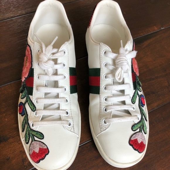 968bf930f47 Gucci Shoes - Gucci Ace Embroidered Sneakers